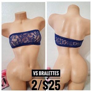 Victoria's Secret Stretchy Bandeau Lace Bralette